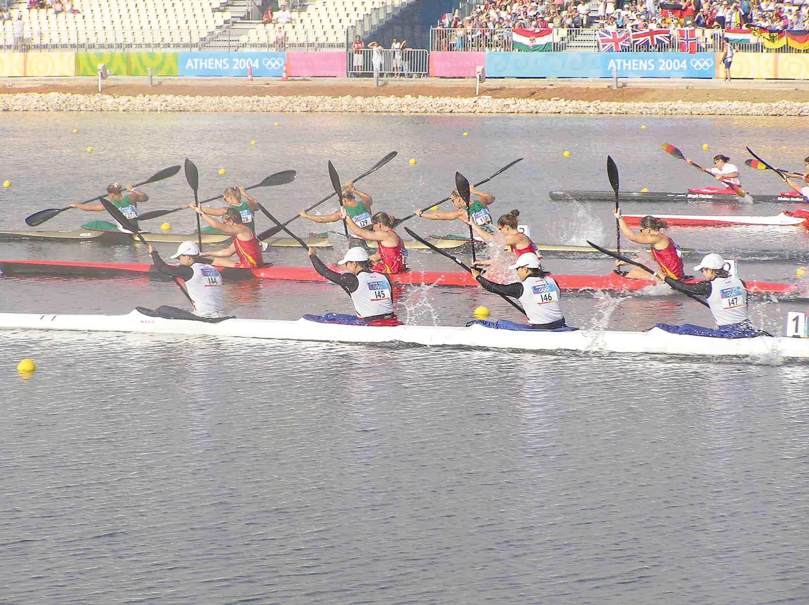 2004年アテネオリンピックのカヌー競技